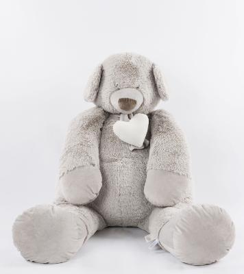 Peluche Oso light grey 115 cm SUPER OFERTA