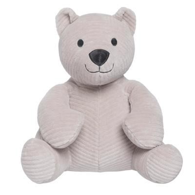Stuffed bear Sense grey 25 cm